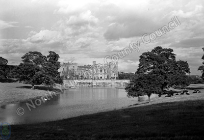 Raby Castle and Lake